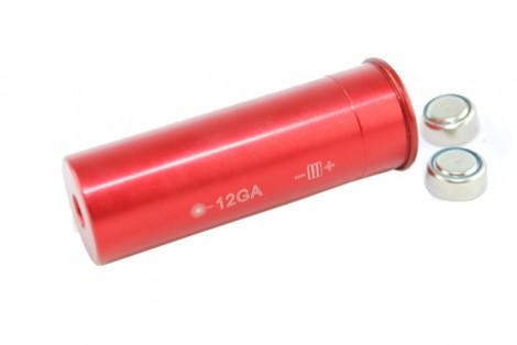 12 Gauge Boresight Red Laser