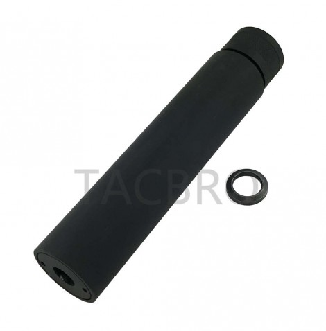 """1/2""""x36 TPI Threaded Barrel Extension Fake Tube Can Muzzle Brake for 9mm"""