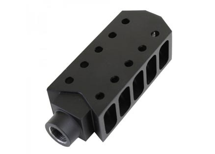 Barrett Style Tanker Extended Length Muzzle Brake For Ar 10 308