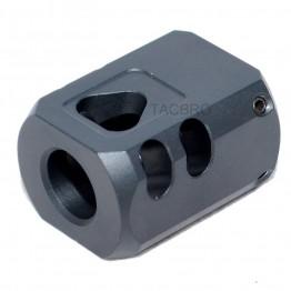 .40 Black Anodized Aluminum 9/16x24 Muzzle Brake Compensator