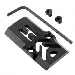 GCP-101# Black Anodized Aluminum Trijicon RMR Cover Plate for Glock 17 19 26 Cut Slides