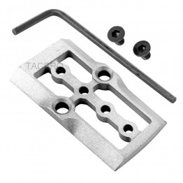 GCP-104# Raw Aluminum Trijicon RMR Cover Plate for Glock 17 19 26 Cut Slides