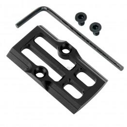 GCP-108# Black Anodized Aluminum Trijicon RMR Cover Plate for Glock 17 19 26 Cut Slides