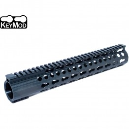 "Super Slim 12.5"" Low Profile Free Float KeyMod Handguard for 308 .308"