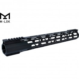 "15"" M-Lok Super Slim Ultra Light Free Float Handguard for 223"