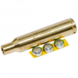 6.5x55 Cartridge Brass Red Dot Laser Bore Sighter