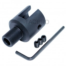 """Ruger 10/22 Muzzle Brake Adapter - 1/2""""x 28 Thread Pitch"""