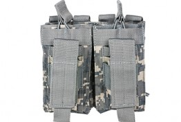 Double AR and Pistol Mag Pouch - Digital Camo