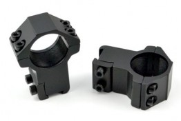 "1"" Dia. High Profile Scope Rings For Dovetail System"