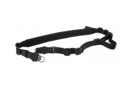 BLACK ONE OR TWO POINT RIFLE SLING