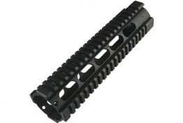 "AR15 9"" Free Floating Quadrail Oval Port Gen 2"