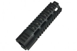 1039 AR 7 Inch Clamp On Free Float Quad Rail System