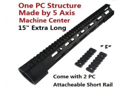 "308 Ultra slim 15"" Free Float Modular Quad Rail System"