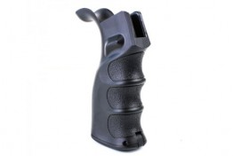 Ergonomic Pistol Grip with Beavertail - Black