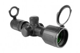 ARMORED SERIES 3-9X40MM COMPACT SCOPE W/ P4 SNIPER RETICLE