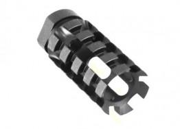 "AR-9mm Pineapple Muzzle Brake 1/2""x36 thread pitch"