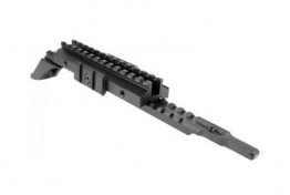 AK / SAIGA ADJUSTABLE TRI-RAIL SCOPE MOUNT