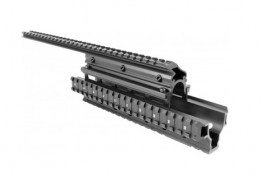 "SAIGA 12G QUAD RAIL HANDGUARD W/ 15"" TOP RAIL"