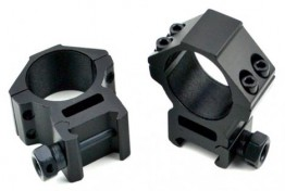 30mm Dia. Medium Profile Scope Rings For Picatinny/Weaver Rail System