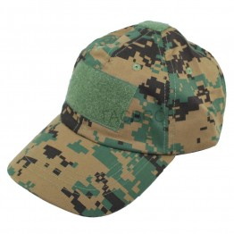Wood Digital Camo Tactical Baseball Style Military Hunting Hiking Outdoor Cap Hat