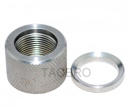 .308 Stainless Steel Thread Protector, 5/8x24 Pitch, .936 OD