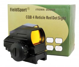 Reflex Red Dot Sight Dual-illuminated With 4 Different Reticles Weaver