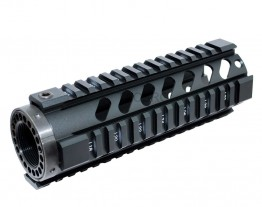 "7"" FREE FLOAT QUAD RAIL HANDGUARD"