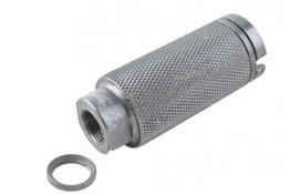 AR 308 Krinkov Style Muzzle Brake, Pressure Reducer 5/8x24 Pitch