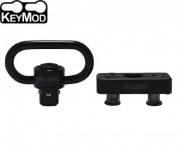 Keymod Adaptor Base + Push Button Quick Detach Sling Swivel