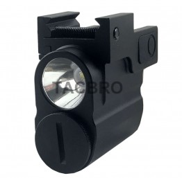 300 Lumen High Power Tactical Micro Flashlight For Sub Compact