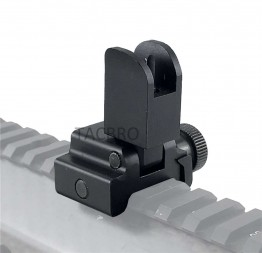 Low Profile Flip-up Front Iron Sight, Black