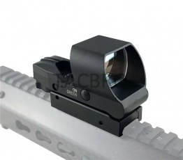Tactical Holographic Red Green Dot Sight Sun Shade Soft Tough Switch
