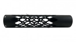 "10"" Skeleton Tube Free Float Handguard Anodized Black Smooth Grab N Super Light"