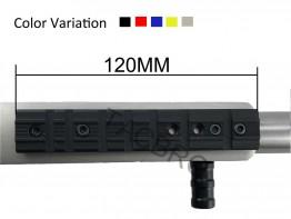 Aluminum Ruger 1022 Base Mount Weaver&Dovetail - Color Variation