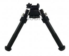 Black Bipod 360° Adjustable Legs Precision Bipod For hunt rifle