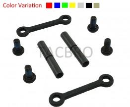 "Anodized Color Anti Rotation Walk Pins Kit Set .154"" .223/5.56/.308 Style 15/10"