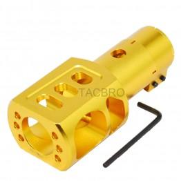 Mossberg 500 590 Shockwave 12GA Clamp on Muzzle Brake Recoil Reduce - Gold