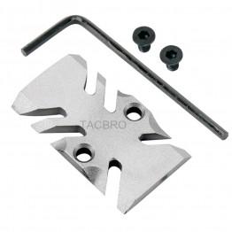 GCP-105# Raw Aluminum Trijicon RMR Cover Plate for Glock 17 19 26 Cut Slides