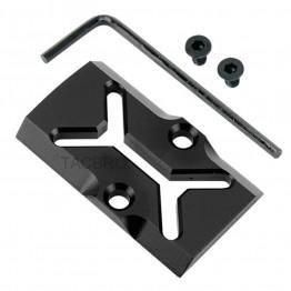 GCP-107# Black Anodized Aluminum Trijicon RMR Cover Plate for Glock 17 19 26 Cut Slides