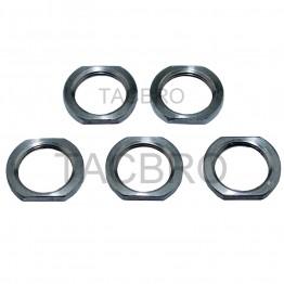 5/8x24 TPI Stainless Steel Jam Nut 5pcs