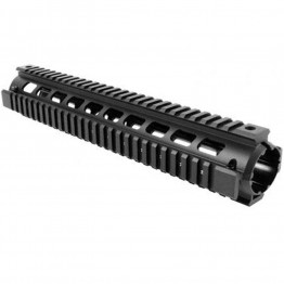 STANAG 4694 RIFLE LENGTH 2PIECE DROP-IN QUAD RAIL HANDGUARD