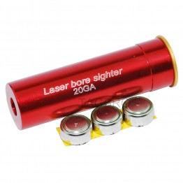 20 Gauge Shotgun 20GA Laser Bore Sighter Boresighter Battery included