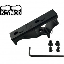 Black Anodized Aluminum Keymod Fore Grip for Keymod Handguard