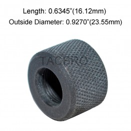 .223 Bull Barrel Thread Protector, 1/2x28 Thread Pitch, .927 OD