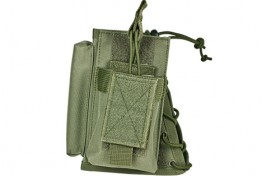 Stock Riser with Mag Pouch - Green
