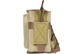 Stock Riser with Mag Pouch - Tan