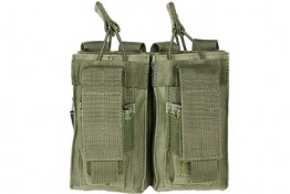 Double AR and Pistol Mag Pouch - Green
