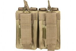 Double AR and Pistol Mag Pouch - Tan