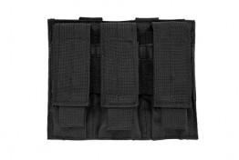 Triple Pistol Mag Pouch - Black