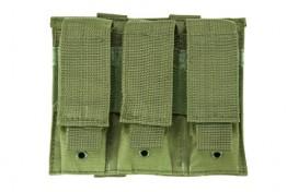 Triple Pistol Mag Pouch - Green
